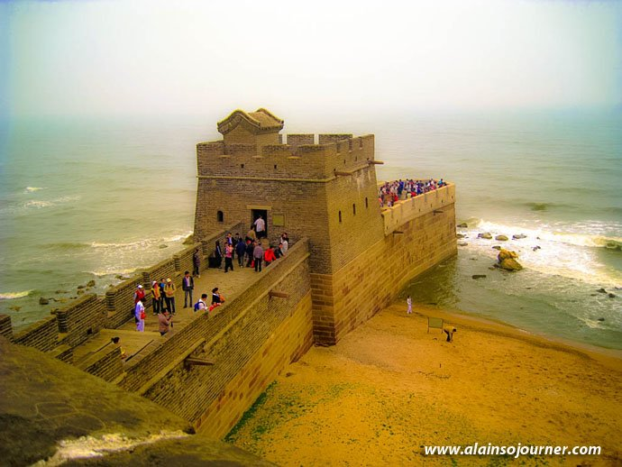 Shanhaiguan Great Wall of China Laolongtou