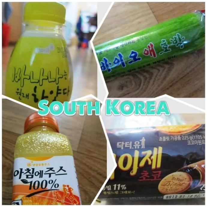South Korea food challenge