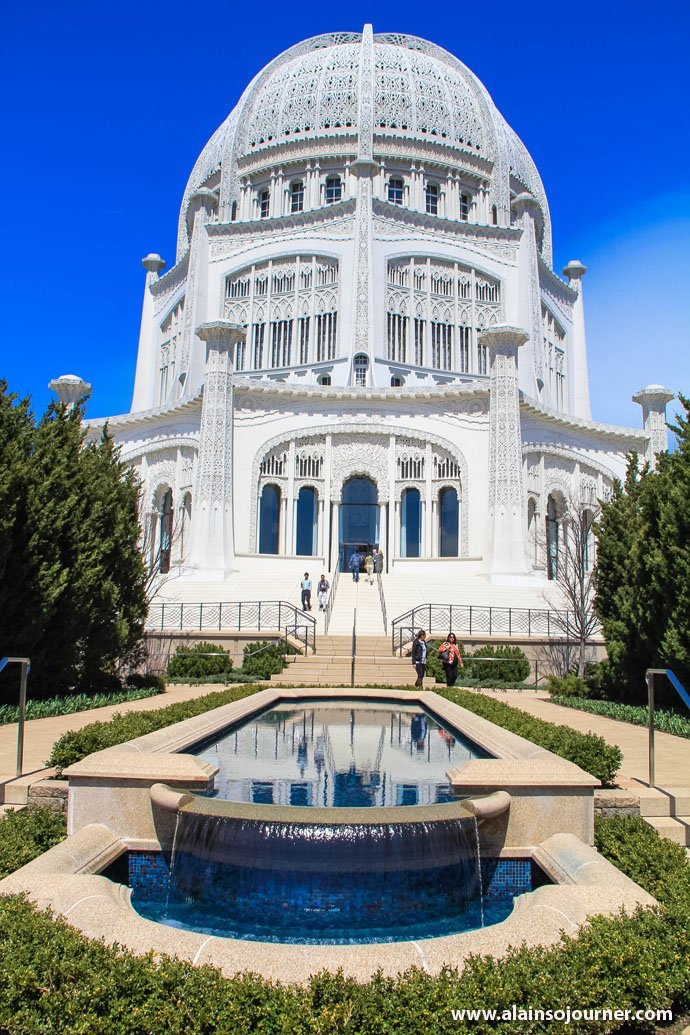 Baha'i House in Wilmette, Illinois (just outside Chicago).