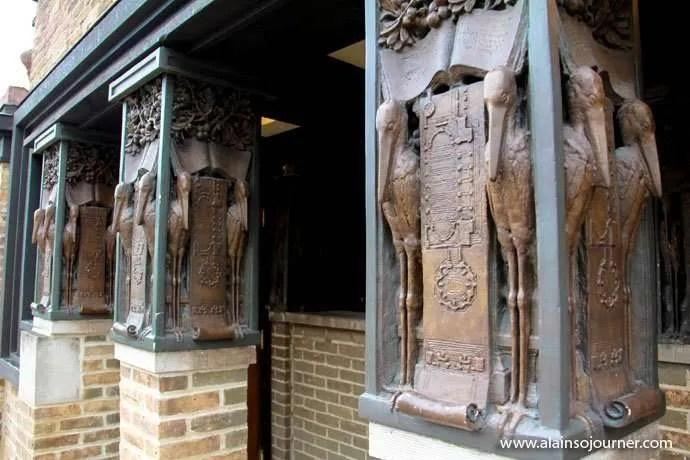 Chicago Frank Lloyd Wright Home 6