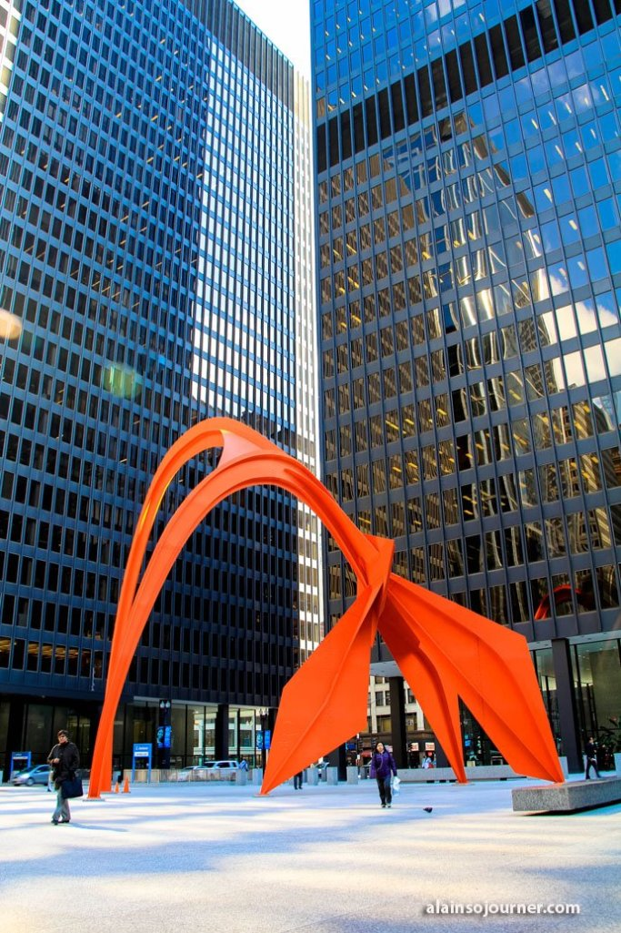 Flamingo Public Arts in Chicago