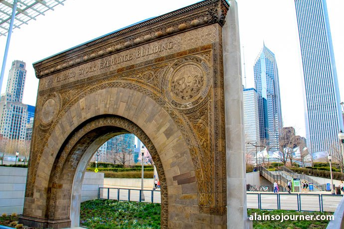 Stock Exchange Arch Chicago Public Art