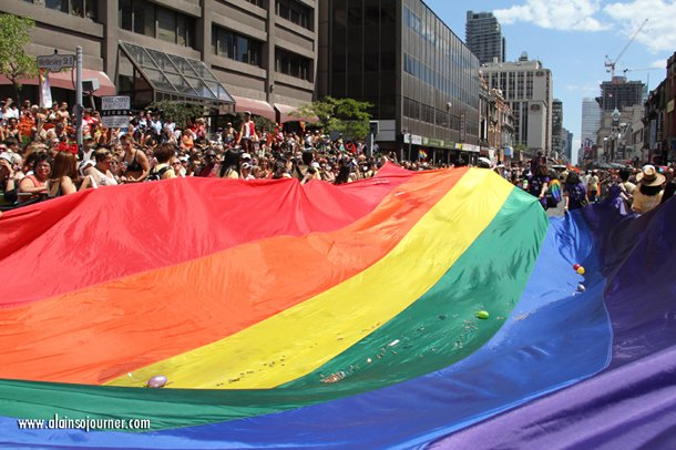 """""""We're here. We're queer. We're not going anywhere!"""""""