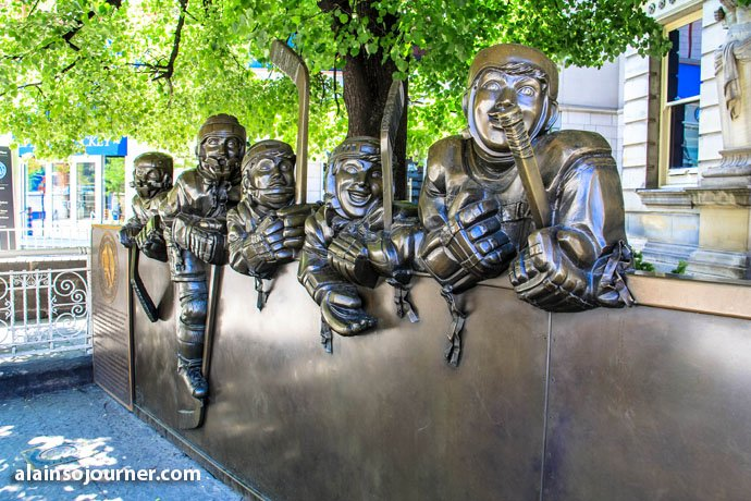 Toronto Public Art Hockey Players