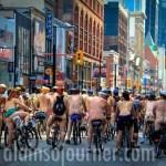 World Naked Bike Ride Toronto 2013 WNBR 8