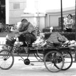 Pedicabs in China