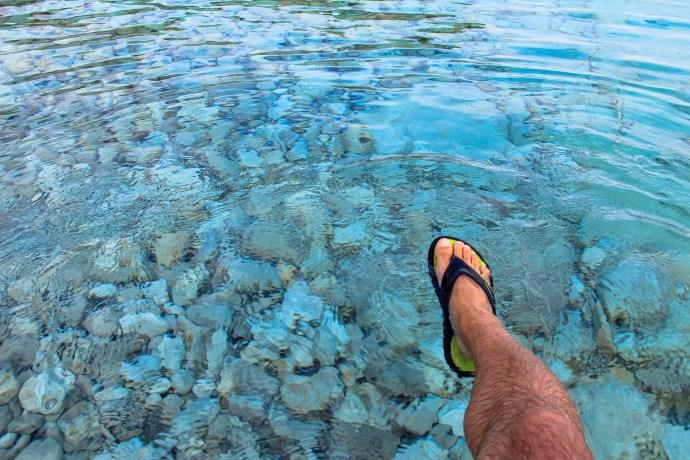 Swimming in Bruce Peninsula