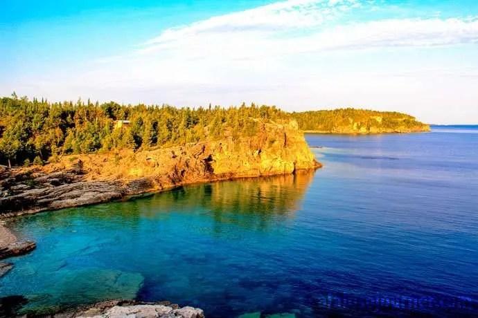 Indian Head Cove Bruce Peninsula Cyprus Lake Camground