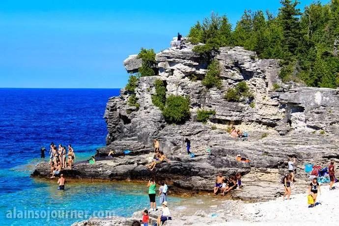 Indian Head Cove Grotto Bruce Peninsula
