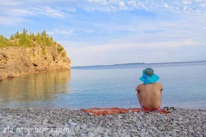Indian Head Cove Bruce Peninsula Cyprus Lake Campsite 30