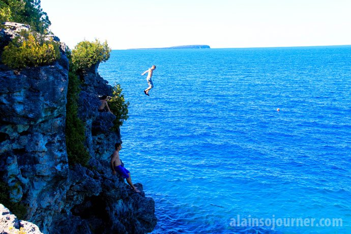 The Grotto Cyprus lake bruce peninsula