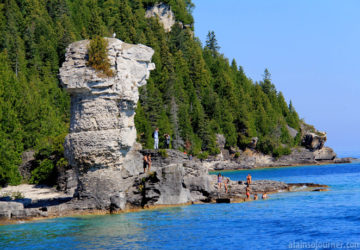 Flower Pots island Things to do in Bruce Peninsula