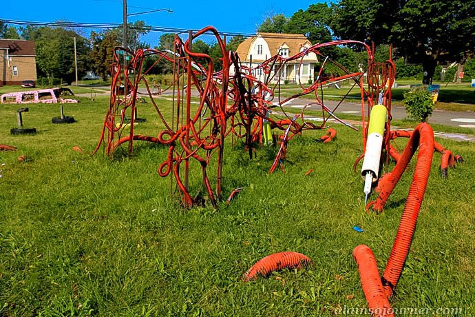 Heidelberg Project in Detroit.
