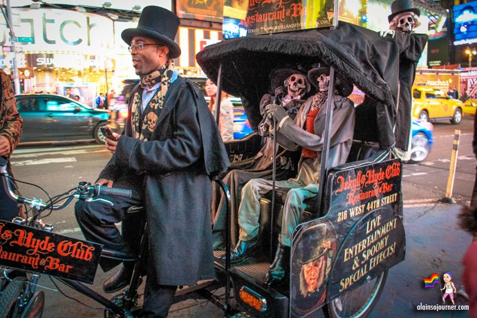 Times Square Buskers Halloween