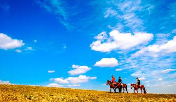 Xilamuren Grasslands in Inner Mongolia
