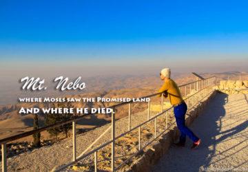 Mt. Nebo Amman Jordan