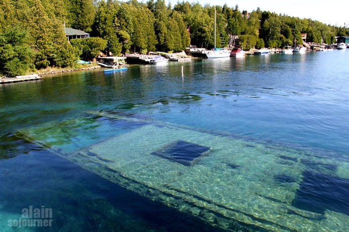 Shipwrecks Tobermory Bruce Peninsula