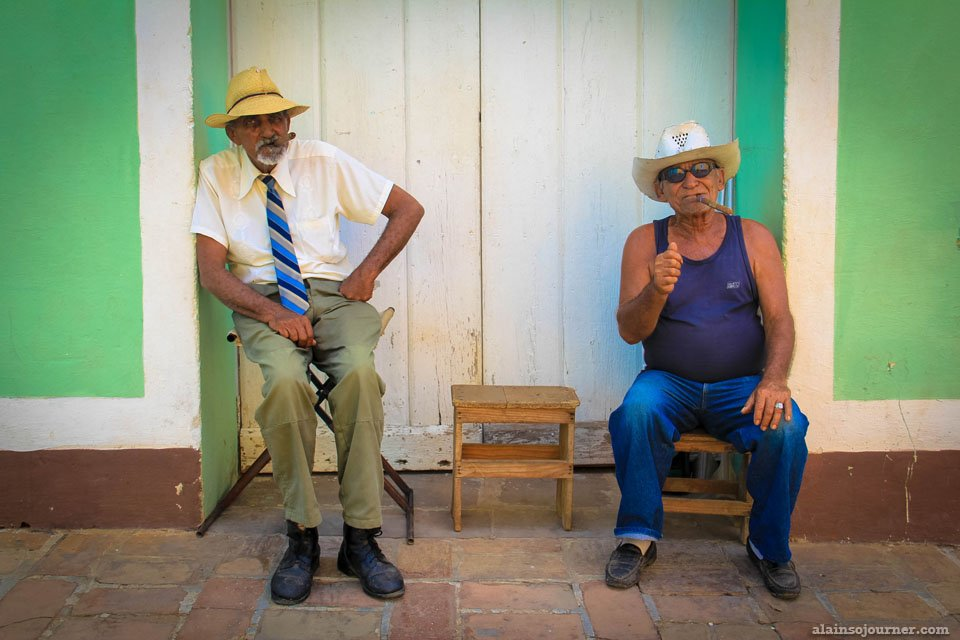 Portraits of Cubans and Their Way of Life