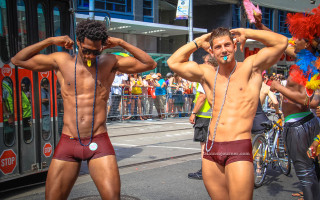 The Shirtless Boys of World Pride 2014 Toronto
