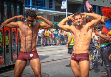 The Shirtless Boys of World Pride 2014 Toronto