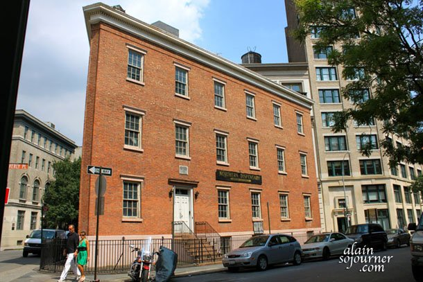 The House of Edgar Allan Poe in New York City.