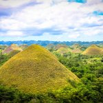 Chocolate Hills in Bohol – View from Carmen Peak