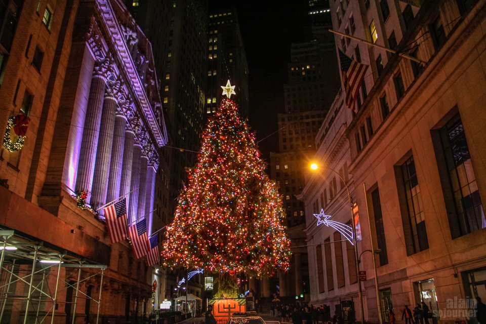 Christmas in New York / Wall StreetChristmas in New York / Wall Street