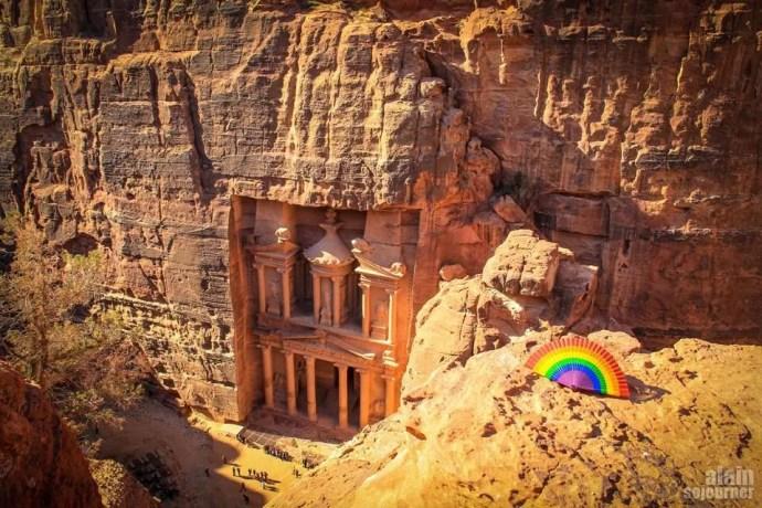 Things to do in Jordan: Walk around Petra.
