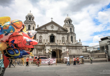 Scenes in Quiapo, Manila, Philippines.