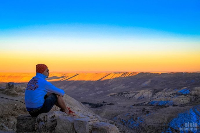 Things to do and see in Jordan: Watch the sunset.