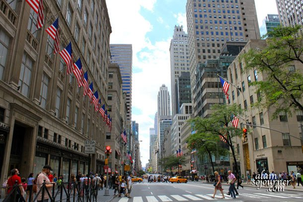 New York City's 5th Avenue.