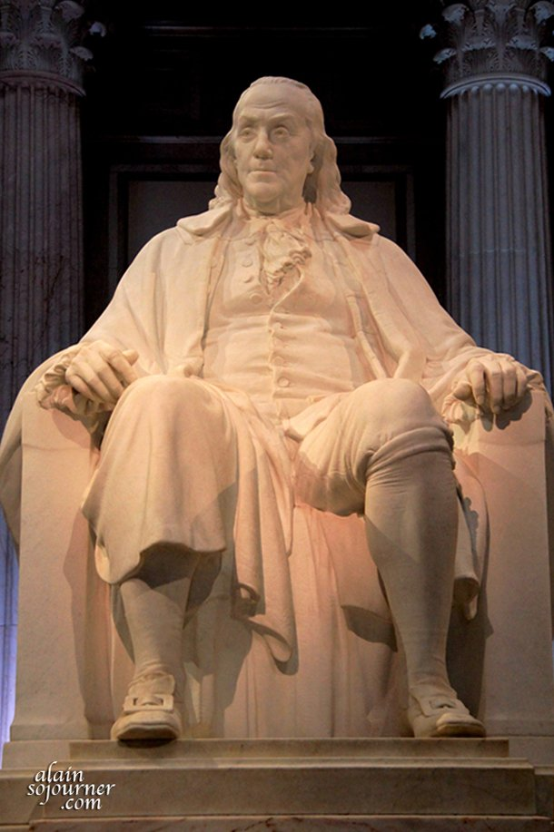 Philadelphia and Benjamin Franklin are synonymous.
