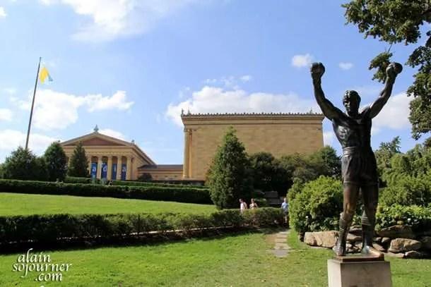 Rocky balboa Statue The Museum of Arts in Philadelphia