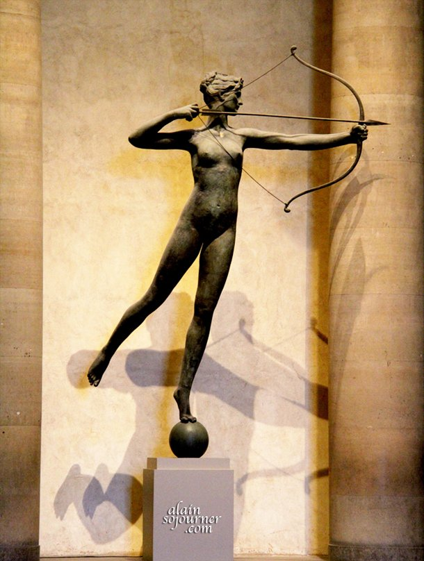 The Statue of Diana at Museum of Arts