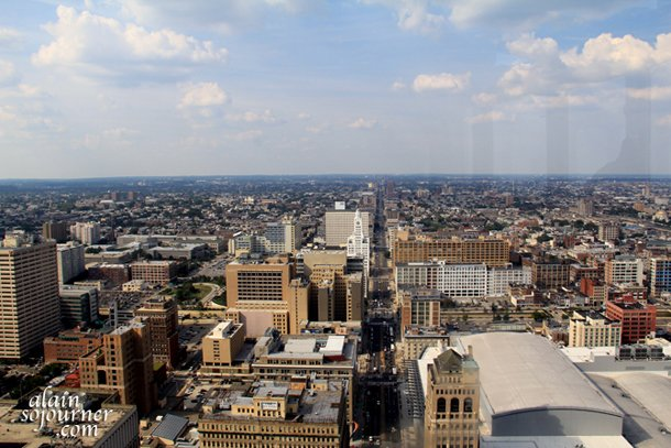 Philadelphia's Panorama from The City Hall Tower