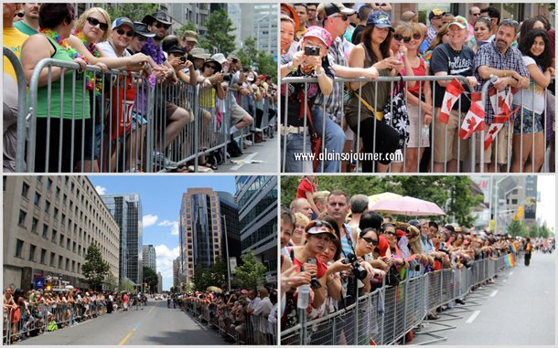 The Crowd at Toronto Pride Parade 2012