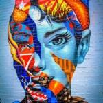 The Audrey Hepburn Mural in Little Italy