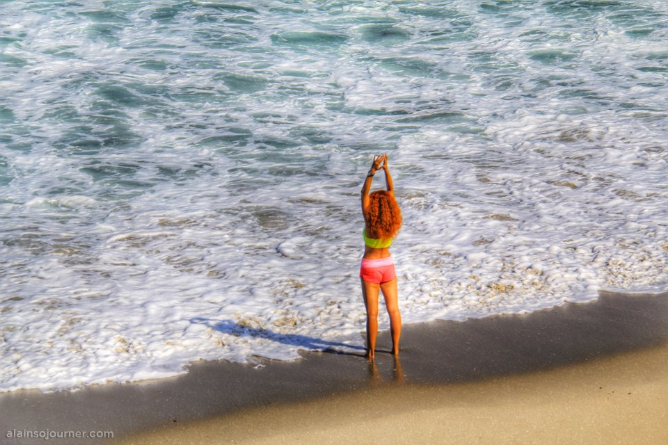 La Jolla Beach, San Diego, California.