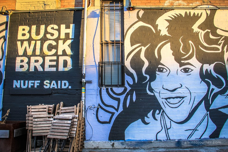 Bushwick Collective Murals in Brooklyn, New York.