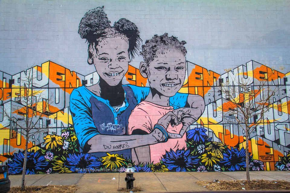Bushwick Murals / Street Art in Brooklyn, New York.