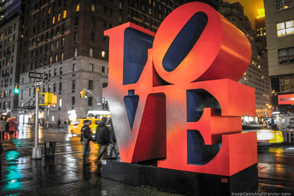I found love in New York City.