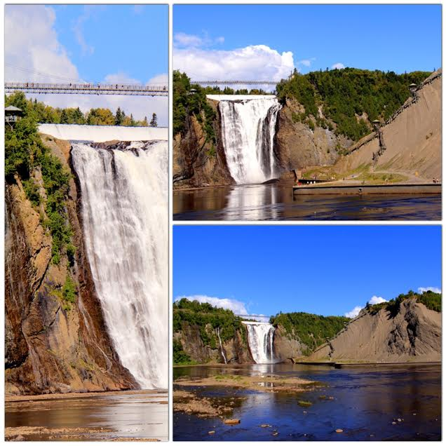 Montmorency Falls in Summer