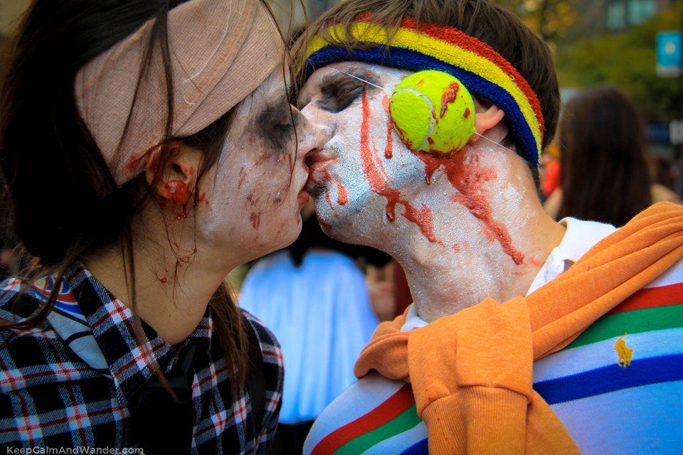 I found love in many places Toronto Zombie Walk