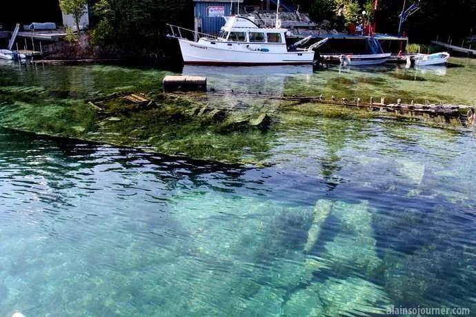 Shipwrecks in Georgian Bay