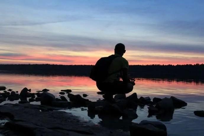 Sunset Bruce Peninsula Tobermory