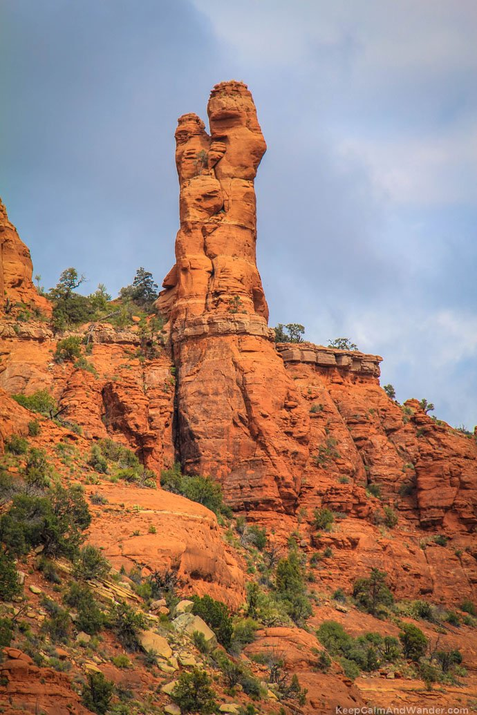You can see Madonna and Child from the Chapel of the Holy Cross in Sedona