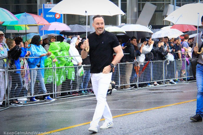 David Furnish at 2015 Toronto pride Parade.