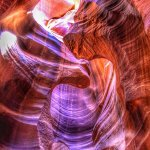 Inside the Antelope Slot Canyon