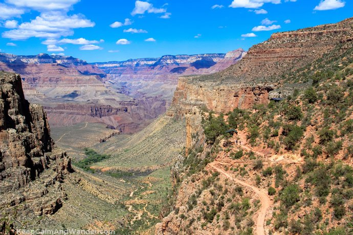Loo With a View at Grand Canyon (Bright Angel Trail).