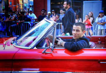 Nick Jonas Arrived in Style at MMVA 2015 red carpet in Toronto.
